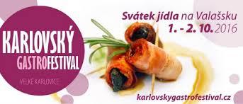 Karlovský gastro festival Velké Karlovice